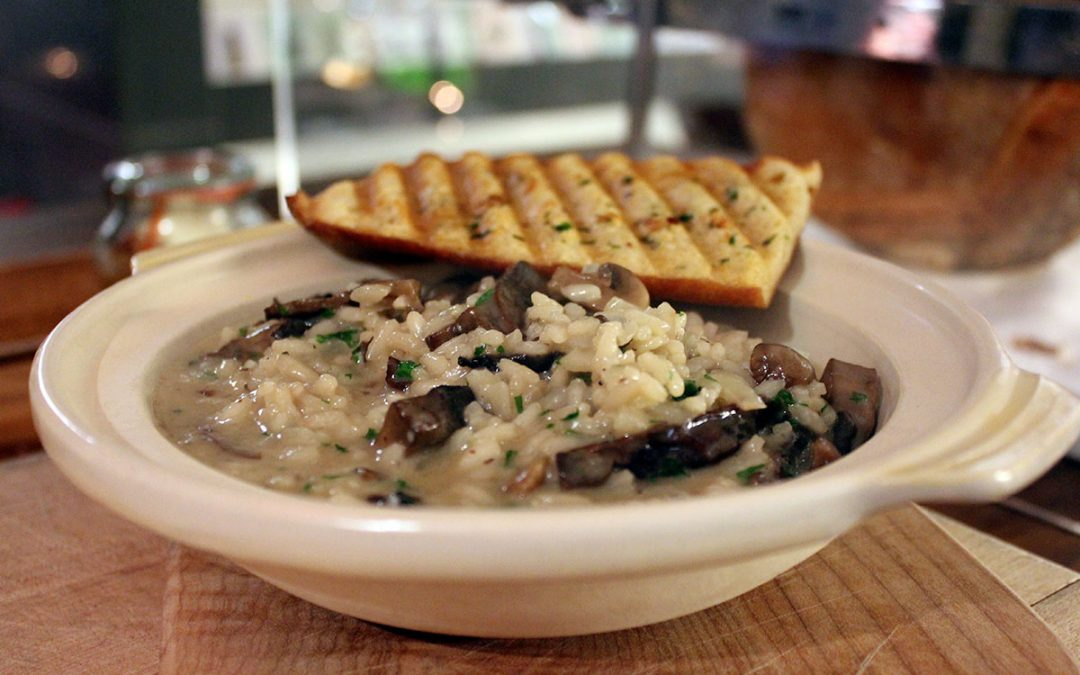 Giovane Risotto- mushroom and truffle…