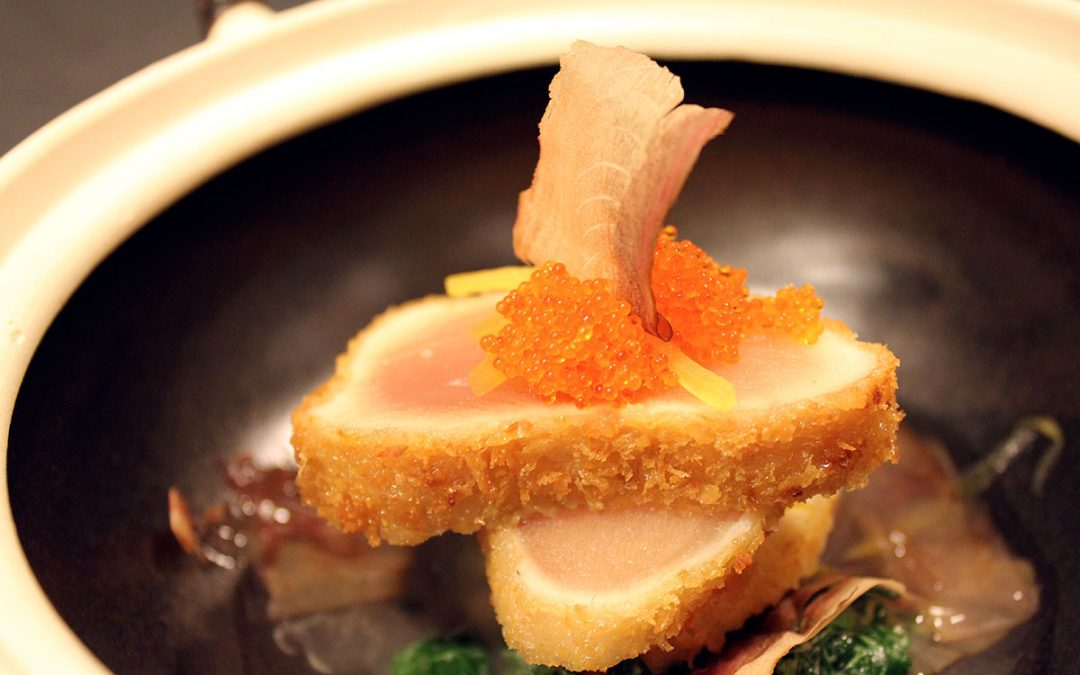 "Albacore tuna ""karaage"" at the skybar and lobby lounge soon…"