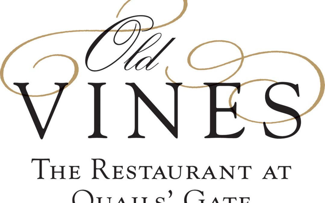 Wine dinner coming up with Quail's Gate @ Oru
