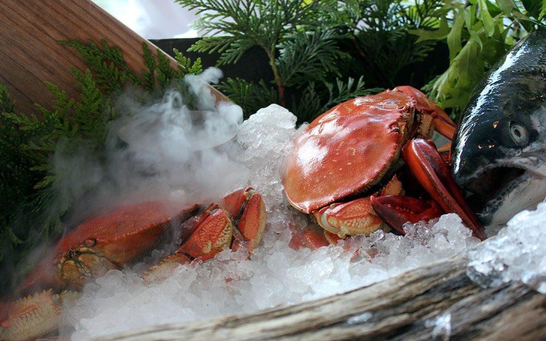 Pacrim seafood buffet….