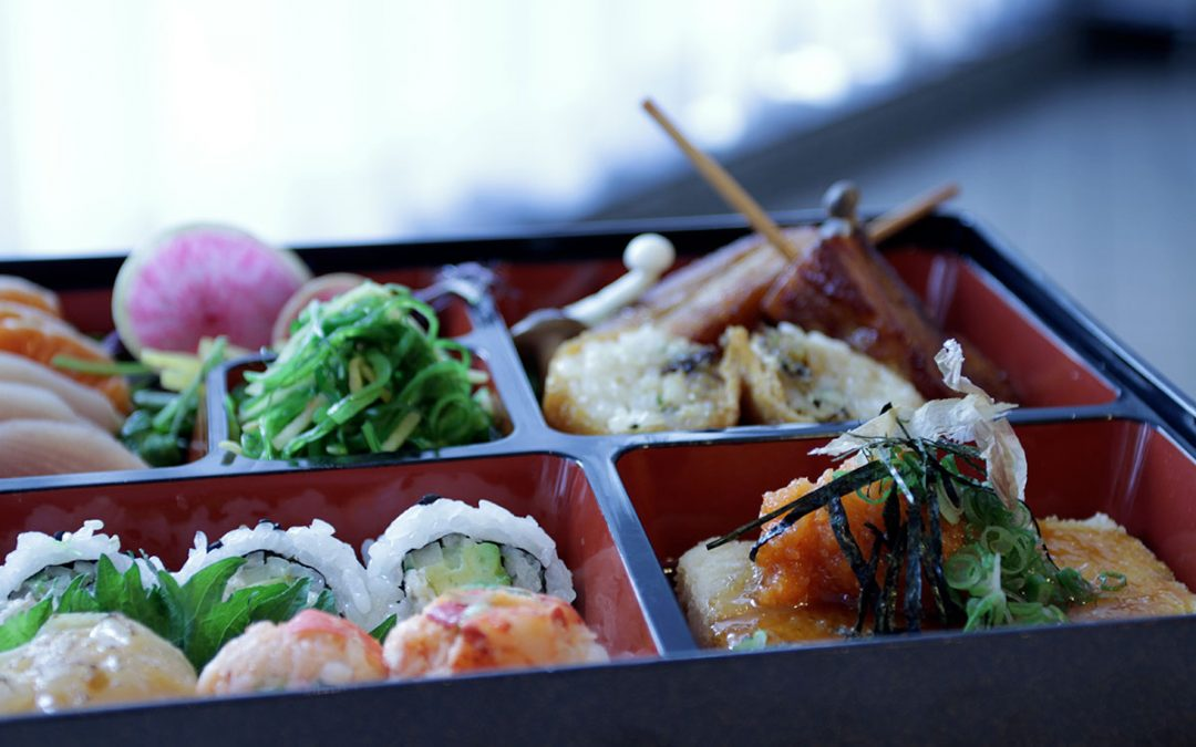 New, improved lunch-time Bento Box in Oru – 100% Ocean Wise…