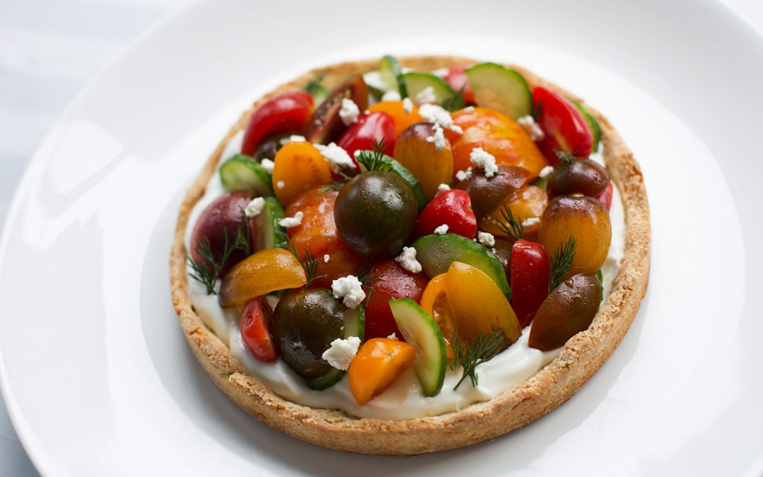 "Village Farms ""True Rebel"" Tomato Tart"