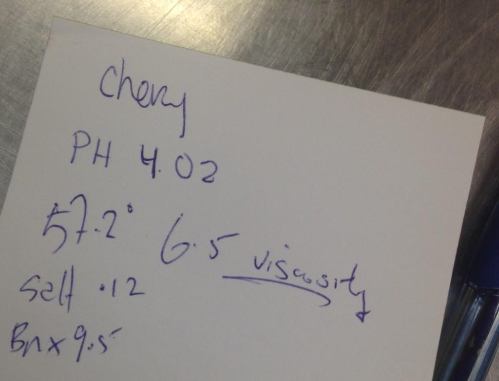 cherry 9 note
