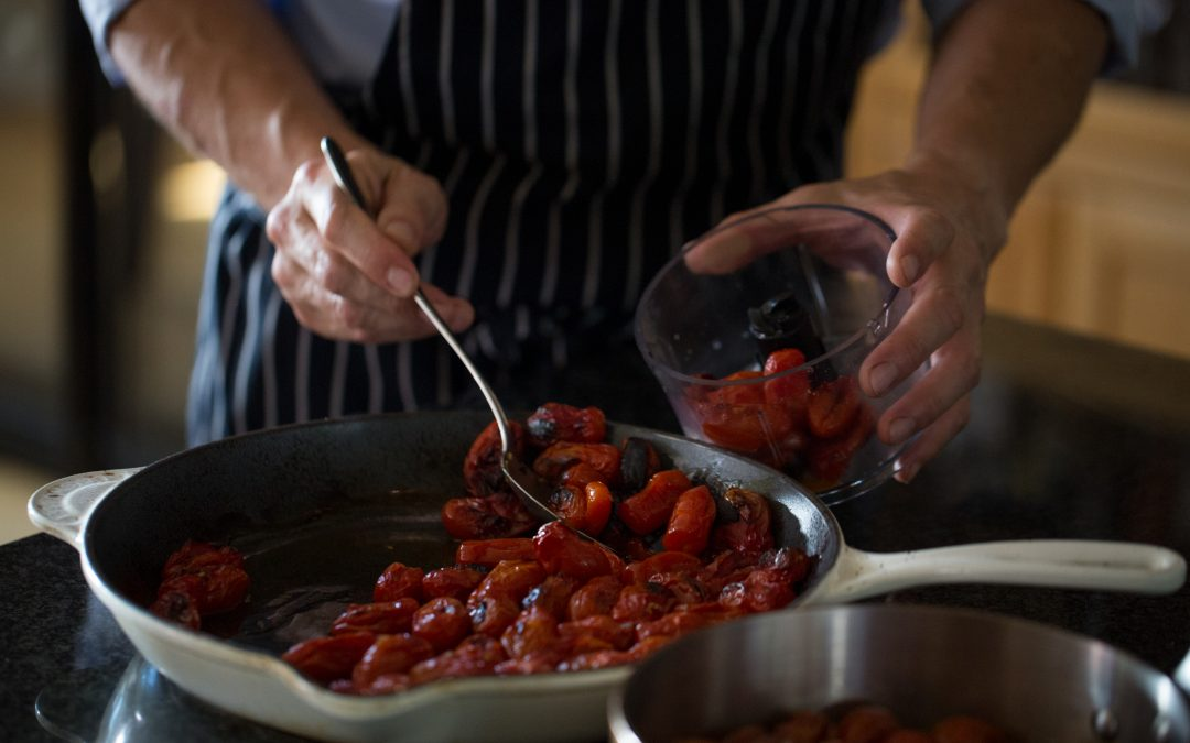 Turning Tomatoes into Sauce…